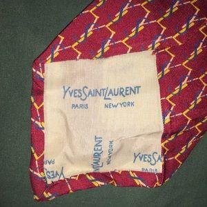 Vintage Yves  Saint Laurent silk